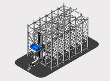 自动化立体库_电子智能货架